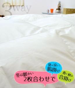 送料無料】日本製 羽毛布団 シングルロング 150×210cm オールシーズン対応 ポーランド産 93% 1.1kg ロイヤルゴールドラベル 付