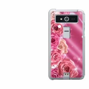 【限定特価】VEGA PTL21 ハードケース / カバー【1182 ピンクのバラに誘われて 素材クリア】(ベガ/PTL21用)