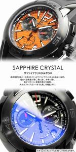 【送料無料】nolimits ノーリミット 腕時計 ウォッチ メンズ 男性用 クオーツ 200m防水 クロノグラフ カラーガラス no1026