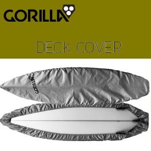 GORILLA/ゴリラ DECK COVER/デッキカバー SILVER【サーフィン】