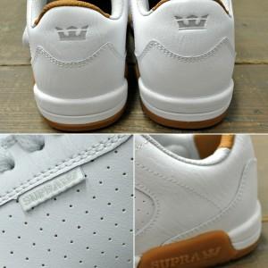 SUPRA/スープラ ELLINGTON WHITE-GUM-M  靴 スケートボードシューズ スニーカー