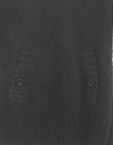 Banner Barrett (バナーバレット)黒麻混ニットワンピース//A-ランク//38