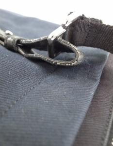 【送料無料】Yves Saint Laurent(イヴサンローラン)キャンバストートバッグ/黒//Cランク