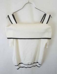 PROPORTION BODY DRESSING(プロポーションボディドレッシング)ニット・セーター/半袖・五分袖/白/黒//Aランク//3