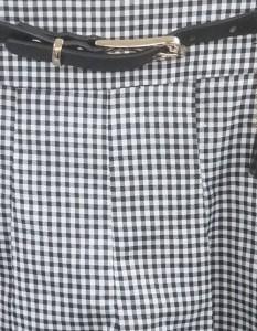 【送料無料】CECIL McBEE(セシルマクビー)ショートパンツ/黒/白/チェック//Sランク//M