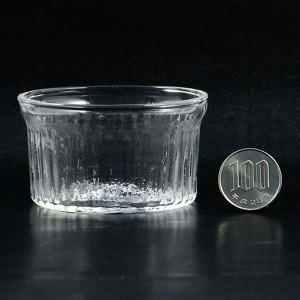 ガラス食器 耐熱ガラス製 100ml ココット型タイプ
