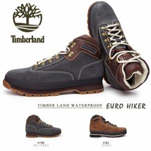 【即納セール】ティンバーランド ユーロハイカー レザー ウォータープルーフ 正規品 メンズブーツ 防水 本革 Timberland EURO HIKER