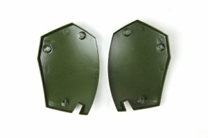 WoSporT モジュラーヘルメット用FOREHEADパーツ Rock