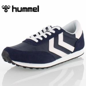 Hummel ヒュンメルSEVENTYONE SPORT SNEAKER 64288-7364 64288-TE メンズ レディース スニーカー ネイビー