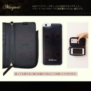 iPhone8/8Plus iPhone Xperia Galaxy 手帳+ソフトケース 2Way ポケット 手帳型 カバー チェック メッシュ ブラウン レッド ブラック B2M