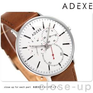 【あす着】アデクス ADEXE ユニセックス マルチファンクション 41mm 2045C-02 腕時計 グランデ