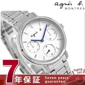 【あす着】アニエスベー サム マルチファンクション 32mm レディース FCST991 agnes b. 腕時計