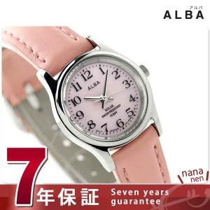 セイコー アルバ ソーラー レディース 腕時計 AEGD560 SEIKO ALBA ピンク