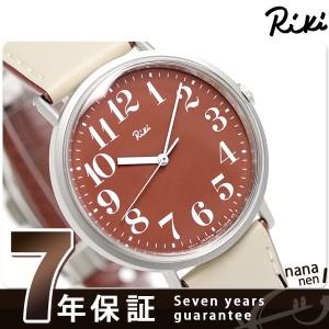 セイコー アルバ リキ 日本の伝統色 腕時計 AKPT020 SEIKO Riki ブラウン×ベージュ