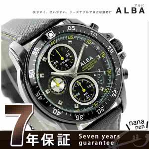 セイコー アルバ クオーツ スポーツ メンズ 腕時計 AQGT422 SEIKO ALBA ブラック