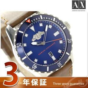 アルマーニ エクスチェンジ カバート メンズ 腕時計 AX1706 AX ARMANI EXCHANGE ブルー×ダークブラウン