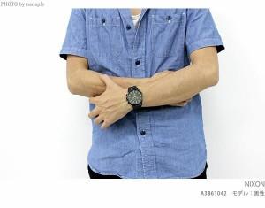 【あす着】ニクソン セントリー クロノ クオーツ メンズ 腕時計 A386001 nixon A386 オールブラック