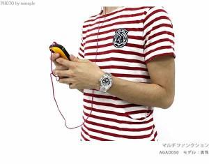 セイコー ワイアード ソーラー ニュースタンダード AGAD053 SEIKO WIRED メンズ 腕時計 マルチファンクション オールブラック