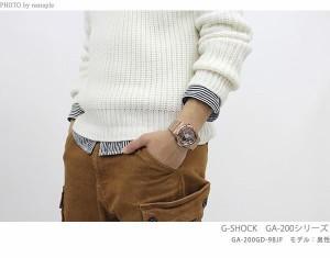 G-SHOCK クレイジーゴールド クオーツ メンズ 腕時計 GA-200GD-9BDR カシオ Gショック ブラック×ローズゴールド