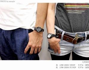 【あす着】カシオ チプカシ 腕時計 デイト クラシック 海外モデル ホワイト×ブラック CASIO LRW-200H-7E1VDF