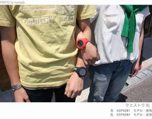 アディダス パフォーマンス クエストラ XL メンズ 腕時計 ADP6080 adidas クオーツ オールブラック