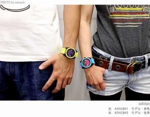 アディダス オリジナルス サンティアゴ クオーツ 腕時計 ADH2912 adidas ブラック×ゴールド