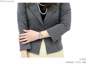 【ブックカバー付き♪】【あす着】セイコー ルキア 電波ソーラー レディース フラワーパーティ SSQW020 SEIKO LUKIA 綾瀬はるか 腕時計