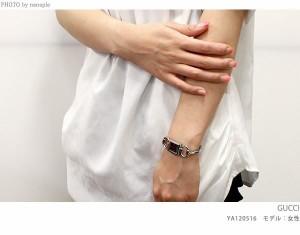【あす着】グッチ 時計 レディース トルナブォーニ ダイヤモンド ピンクシェル GUCCI YA120518