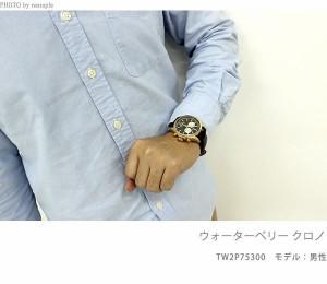 タイメックス ウォーターベリー クロノグラフ メンズ TW2P75400 TIMEX 腕時計 ブルー