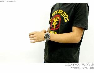 【あす着】オリエント ダイバーズ エムフォース リバイバル 自動巻き WV0191EL ORIENT メンズ 腕時計 ブルー
