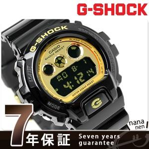 【あす着】CASIO G-SHOCK G-ショック クレイジーカラーズ ブラック×ゴールドDW-6900CB-1DR
