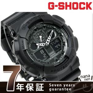 【あす着】CASIO G-SHOCK G-ショック Newコンビネーションモデル フルブラック GA-100-1A1DR
