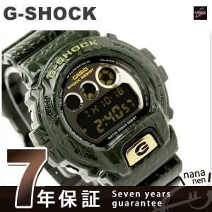 Gショック ザ・レプタイルズ クオーツ DW-6900CR-3DR CASIO G-SHOCK メンズ 腕時計 ブラック×グリーン