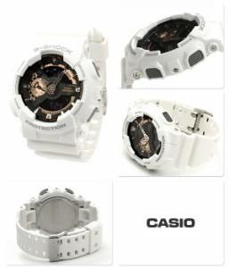 【あす着】CASIO G-SHOCK G-ショック ローズゴールドシリーズ アナデジ ブラック×ローズゴールド GA-110RG-7ADR