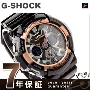 CASIO G-SHOCK G-ショック ローズゴールドシリーズ アナデジ ブラック×メタリックグレー GA-200RG-1ADR
