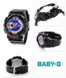 【あす着】Baby-G クオーツ レディース 腕時計 BA-112-1ADR カシオ ベビーG ブルー×ブラック