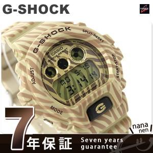 G-SHOCK ゼブラ カモフラージュシリーズ 限定モデル DW-6900ZB-9DR カシオ Gショック メンズ 腕時計 クオーツ ゴールド