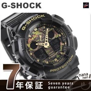 【あす着】G-SHOCK カモフラージュダイアルシリーズ メンズ 腕時計 GA-100CF-1A9DR カシオ Gショック クオーツ ブラック