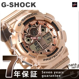 G-SHOCK クレイジーゴールド メンズ 腕時計 クオーツ GA-100GD-9ADR カシオ Gショック ローズゴールド