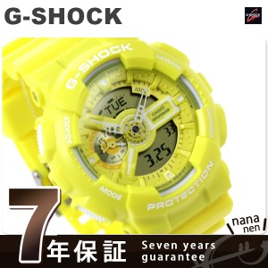 G-SHOCK ビッグケース メンズ 腕時計 GA-110BC-9ADR カシオ Gショック クオーツ イエロー