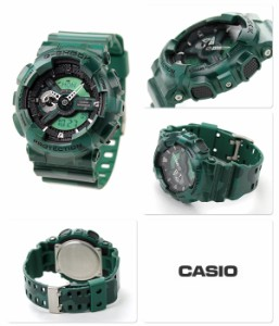G-SHOCK カモフラージュシリーズ メンズ 腕時計 GA-110CM-3ADR カシオ Gショック クオーツ グリーン