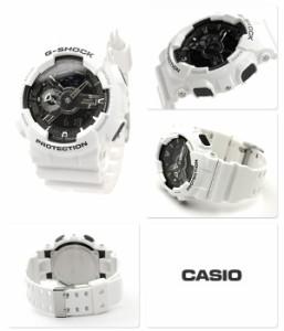 Gショック 腕時計 メンズ ホワイト&ブラックシリーズ ブラック×ホワイト CASIO G-SHOCK GA-110GW-7ADR