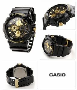 Gショック 腕時計 メンズ ガリッシュゴールドシリーズ ゴールド×ブラック CASIO G-SHOCK GAC-100BR-1ADR