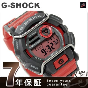 【あす着】G-SHOCK プロテクター メンズ 腕時計 クオーツ GD-400-4DR カシオ Gショック レッド