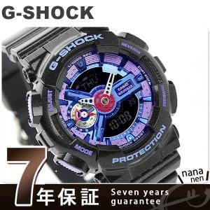 【あす着】G-SHOCK S シリーズ クオーツ メンズ 腕時計 GMA-S110HC-1ADR カシオ Gショック ブラック×ブルー
