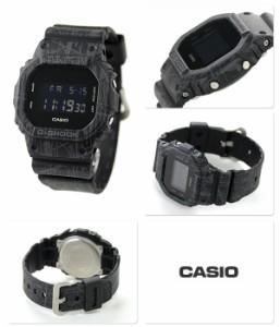 G-SHOCK スラッシュ・パターン・シリーズ メンズ DW-5600SL-1DR カシオ Gショック 腕時計 オールブラック