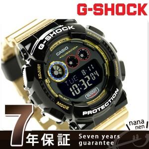 G-SHOCK クレイジー カラーズ メンズ 腕時計 GD-120CS-1DR カシオ Gショック ブラック×ゴールド