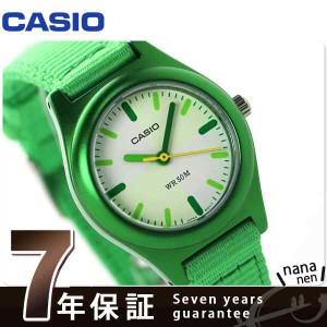 カシオ チプカシ クラシック クオーツ キッズ 腕時計 LTR-16B-3EVDF CASIO グリーン