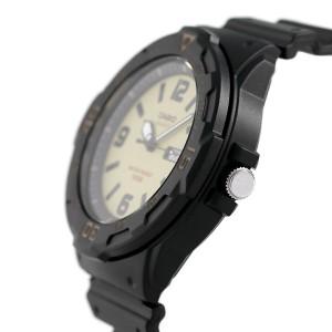 カシオ チプカシ デイデイト クラシック 腕時計 MRW-200H-5BVDF CASIO クリーム×ブラック