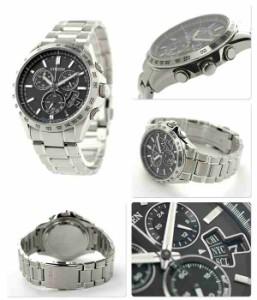 シチズン ダイレクトフライト ワールドタイム 電波ソーラー BY0130-51E CITIZEN メンズ 腕時計 ブラック